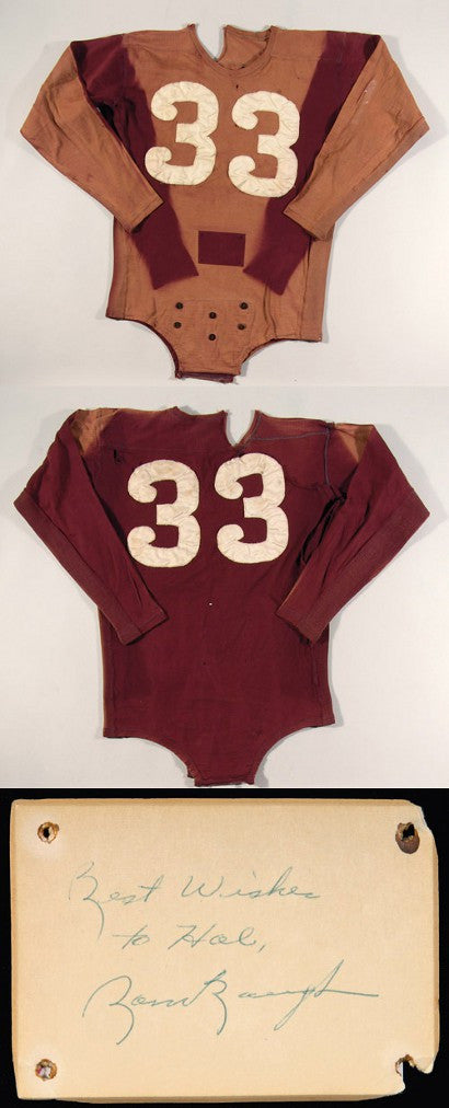 Washington Redskins Sammy Baugh jersey