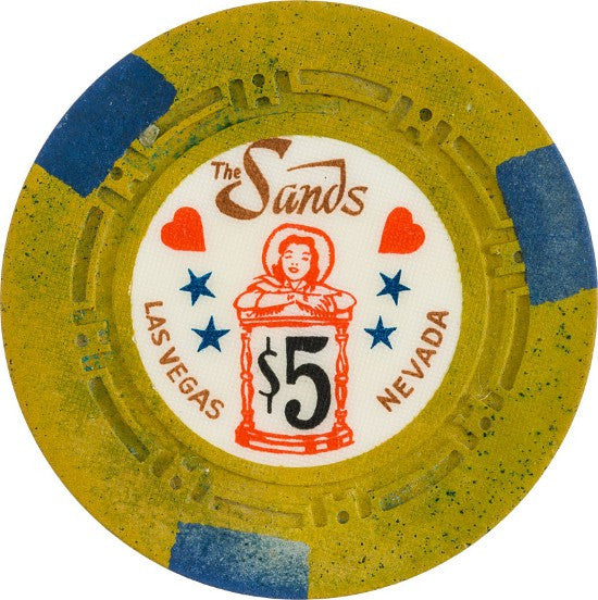 The Sands casino chip vintage