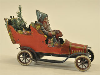 Fischer Santa toy car
