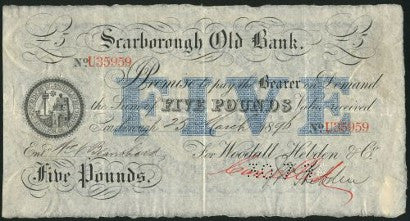 Northern provincial banknotes to sell from David Kirch Collection