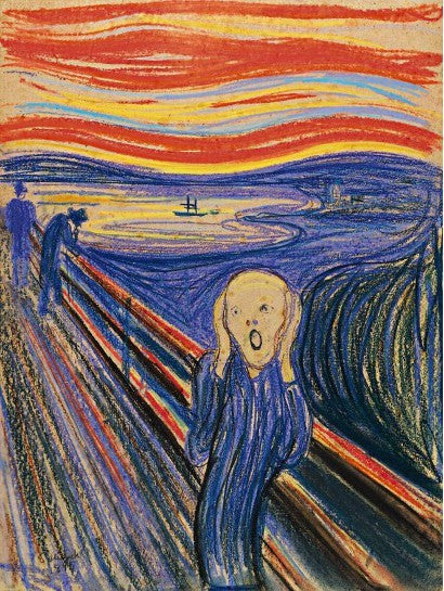 The Petter Olsen version of The Scream
