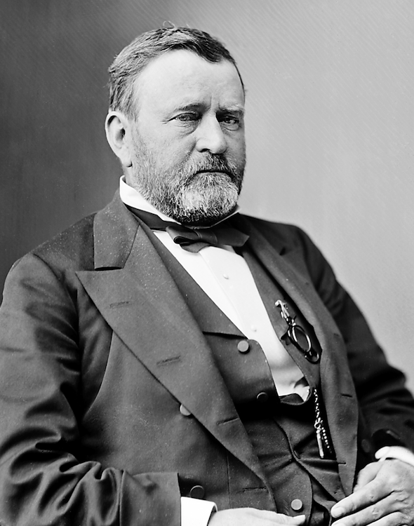 Ulysses S Grant autograph