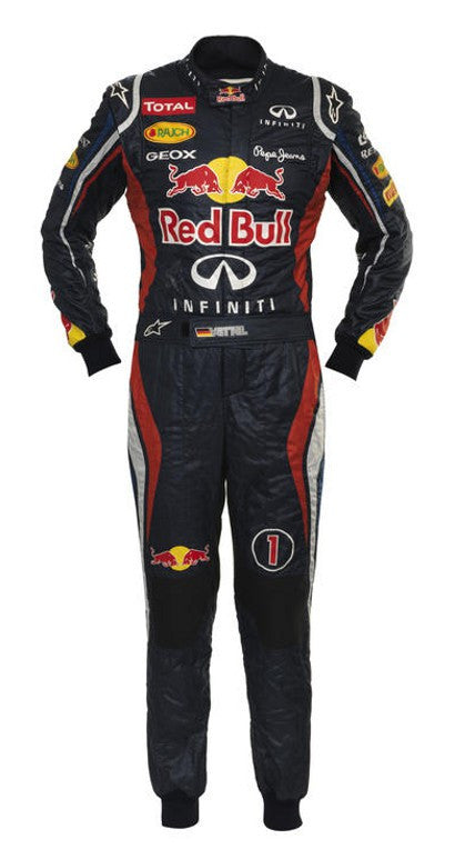 Sebastian Vettel Formula One race suit auction