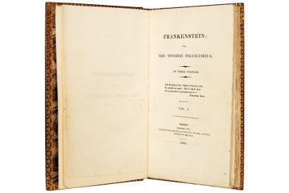 Mary Shelley frankenstein first edition
