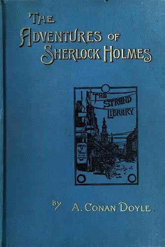 Signed The Adventures of Sherlock Holmes