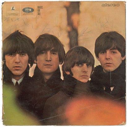 Signed Beatles For Sale