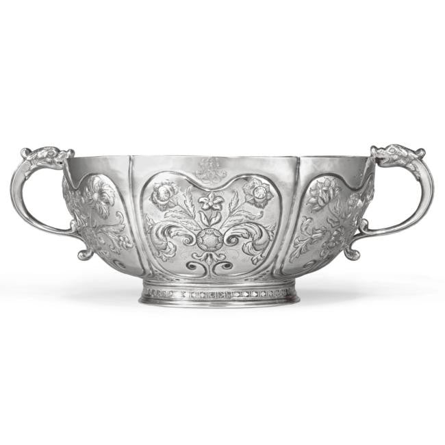 Cornelius Kierstede world record $5.9m silver punch bowl
