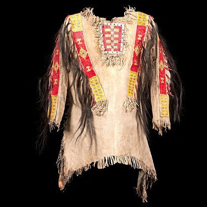 Sioux Beaded and Quilled War Shirt