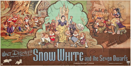 Snow White billboard poster