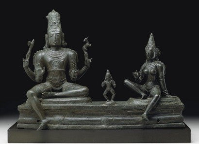 Somaskanda Indian sculpture