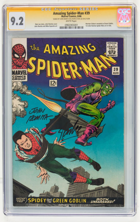 Spiderman Spider-man Green Goblin comic near mint