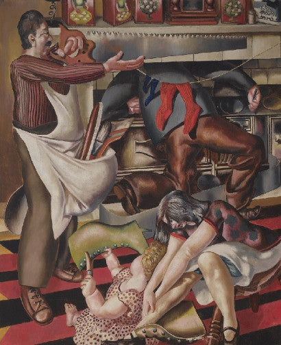 Stanley Spencer Workmen in the House