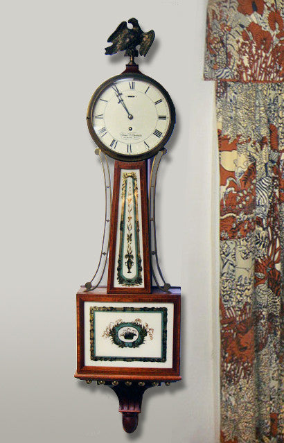 A beautiful 19th century antique Stennis clock