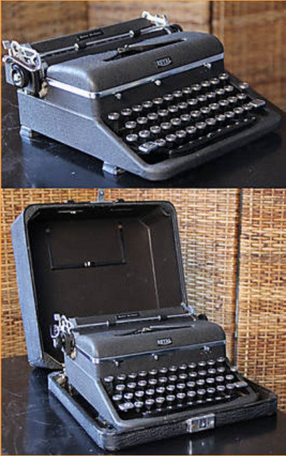 Supermans typewriter used by creator Jerry Siegel