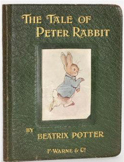 First edition warne Peter Rabbit Beatrix Potter
