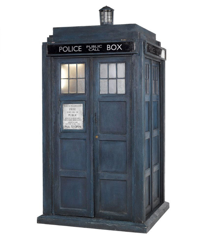 The TARDIS used by Christopher Eccleston's Doctor Who