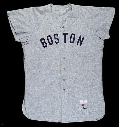 Ted Williams Game used Baseball jersey
