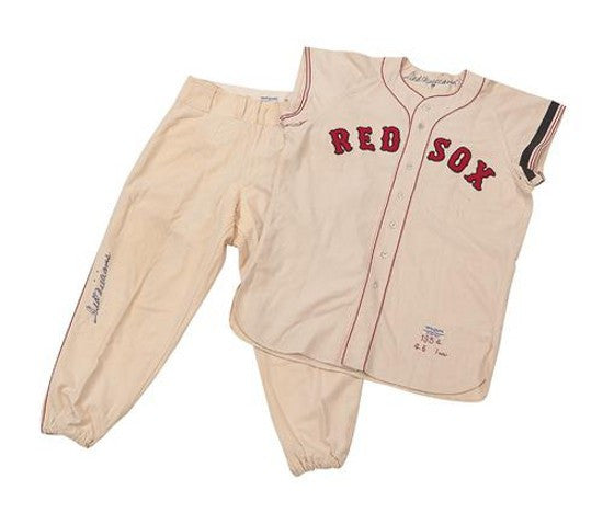 Ted Williams Red Sox uniform