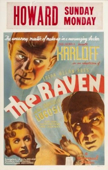 The Raven movie poster Universal
