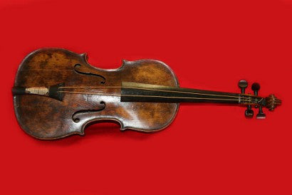 Titanic bandleader violin auction