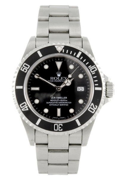 Titanic diver Carl Spencer Rolex Sea Dweller watch
