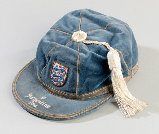 Sir Tom Finney England cap