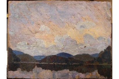 Tom Thomson untitled garage sale painting