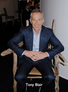 Tony Blair MP with the Sea Table