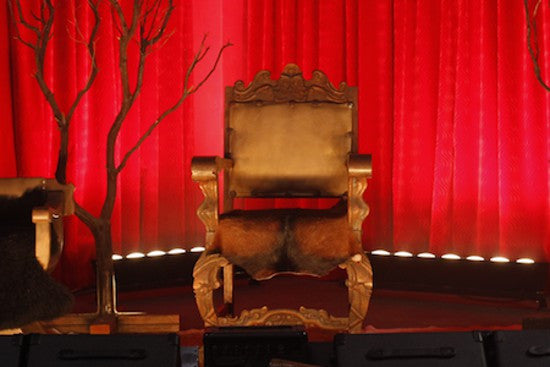True Blood Fangtasia Throne