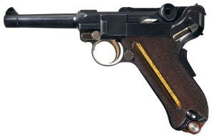 US DWM Model 1902 American Eagle Cartridge Counter Luger Pistol