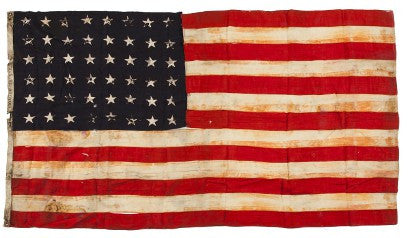 US Flag pearl harbour