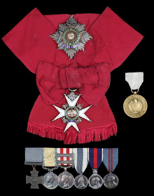 Victoria Cross and other medals of Admiral Salmon