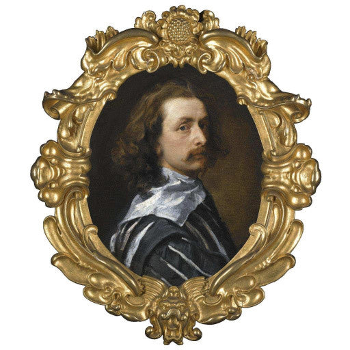 Van Dyck Self Portrait painting