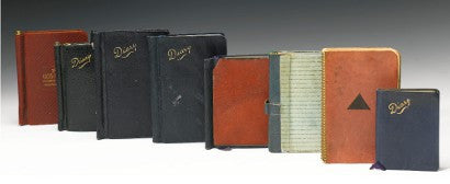 Virginia Woolf Diary Auction