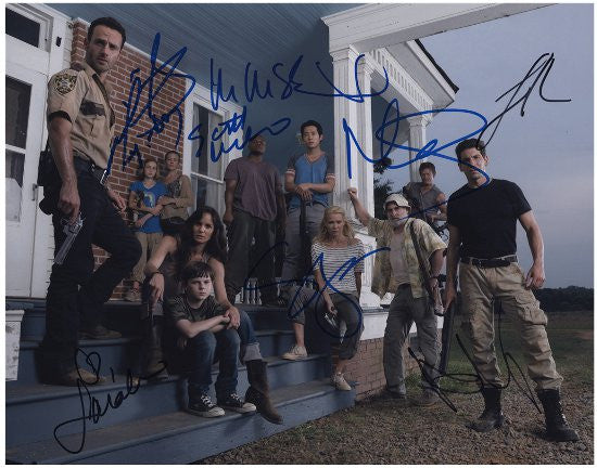 Walking Dead autographs