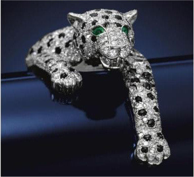 The Duchess of Windsor diamond panther bracelet