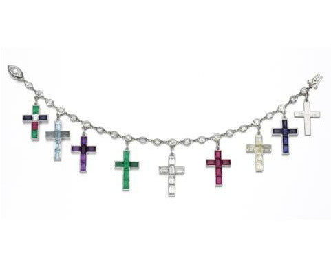 Wallis Simpson's cross jewellery bracelet