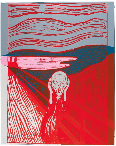 Andy Warhol The Scream print