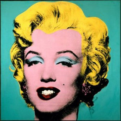 Andy Warhol Turquoise Marilyn