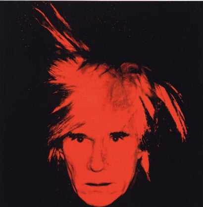 Warhol final self-portrait