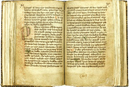 Welsh Manuscript Sotheby's Laws of Hywel Ddda