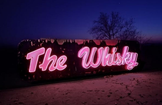 Whisky a Go Go sign