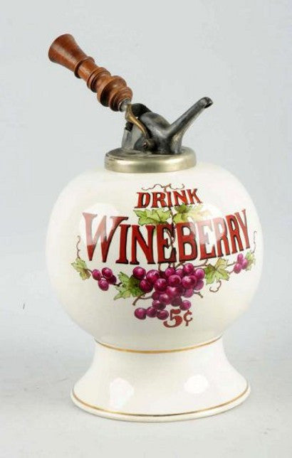 Wineberry Syrup dispenser