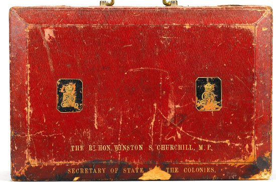 Winston Churchill despatch box