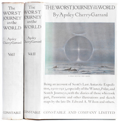 Worst journey in world polar expedition Cherry Garrard
