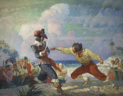 Wyeth Sabatini The Duel on the Beach