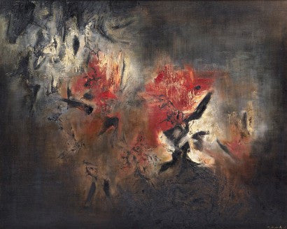 Zao Wou-Ki Abstraction Sotheby's