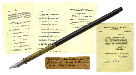 Abraham Lincoln pen