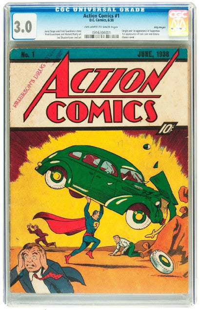Billy Wright's Action Comics #1