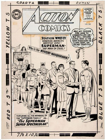 Action Comics Kennedy Superman